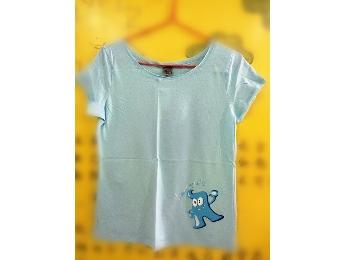 世博T恤  海宝蓝色